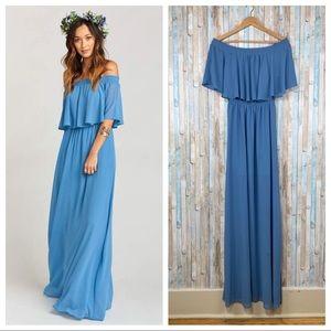 Show Me Your Mumu L Hacienda Maxi Dress FLAWED